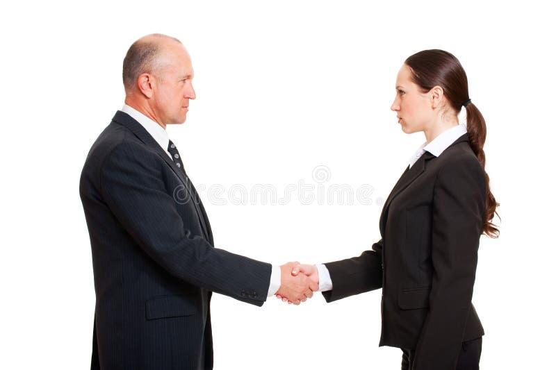 biznesmena poważni kobiety potomstwa obraz stock