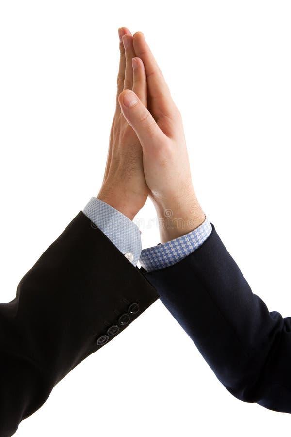 biznesmena przyjacielski uścisk dłoni zdjęcia stock
