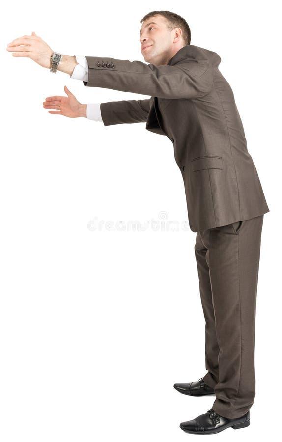Download Biznesmena Przytulenia Pusta Przestrzeń Zdjęcie Stock - Obraz złożonej z osoba, profesjonalizm: 65225776