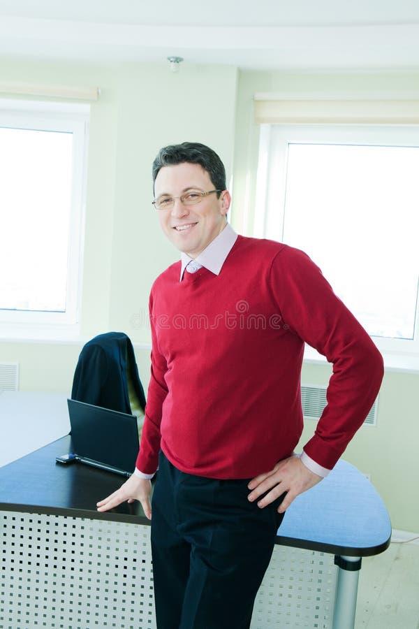 biznesmena senior wewnętrzny biurowy obrazy stock