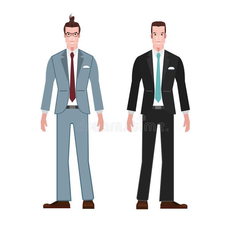 Biznesmena stylu kostiumu odzieży wektor fotografia stock