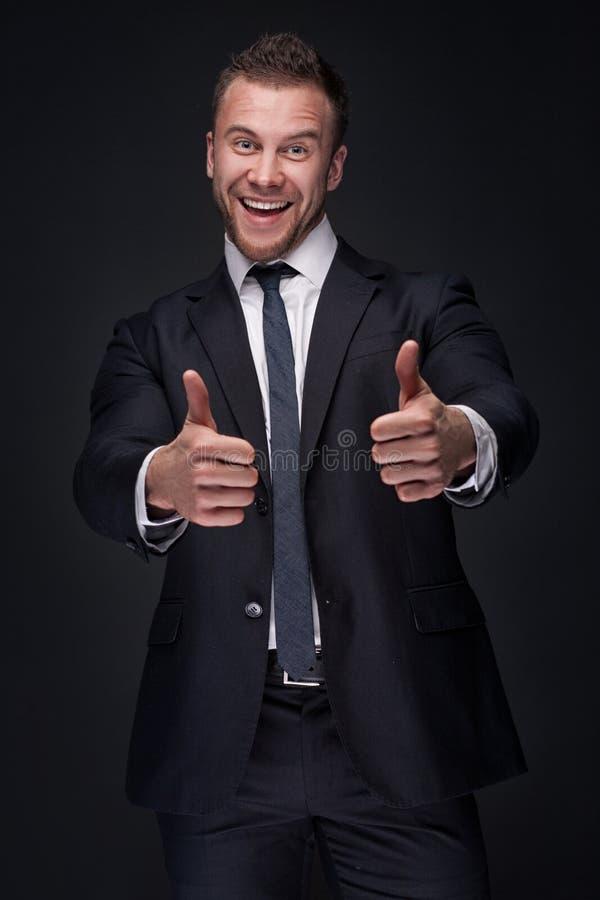 biznesmena szczęśliwi portreta potomstwa zdjęcia stock