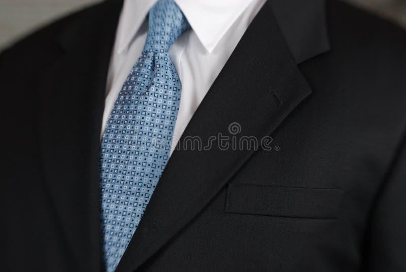 biznesmena szczegółu szyi krawat obraz stock