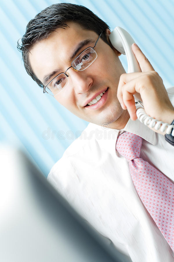 biznesmena telefon zdjęcia stock