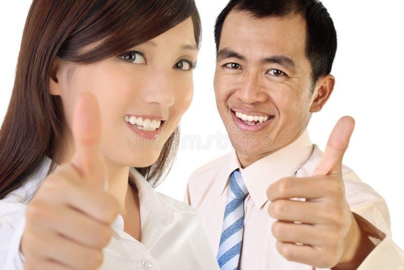 biznesmena uśmiech zdjęcia royalty free