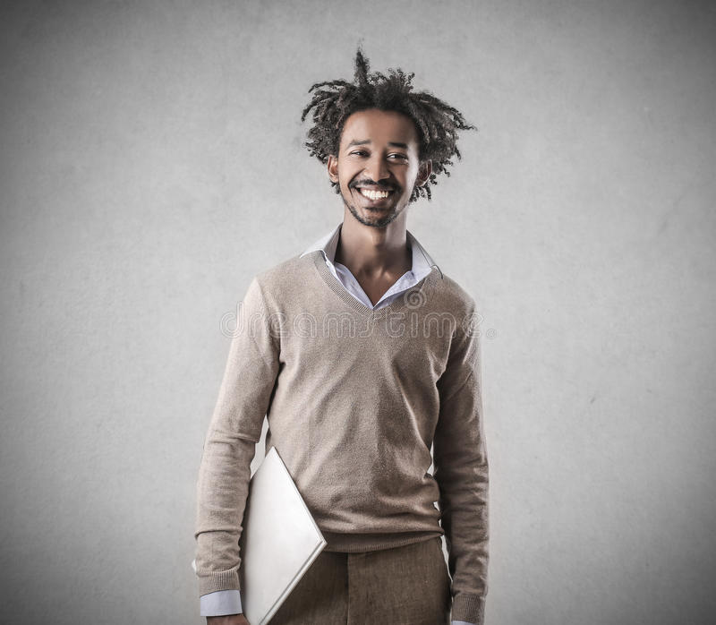 biznesmena uśmiecha się obrazy stock
