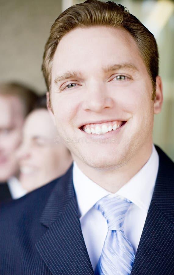 biznesmena uśmiecha się obraz royalty free