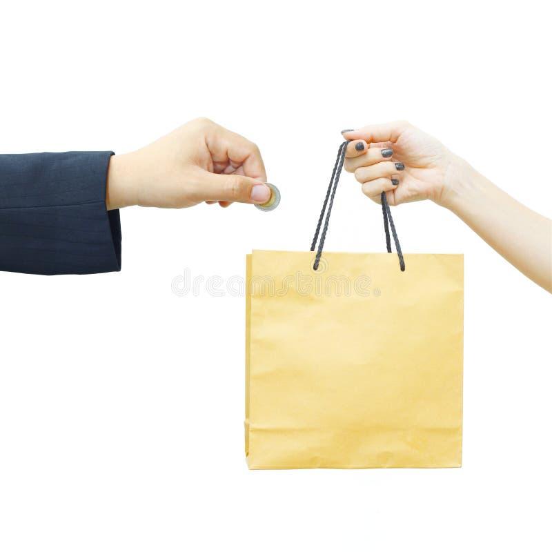 Download Biznesmena zakup coś zdjęcie stock. Obraz złożonej z odosobniony - 28953502