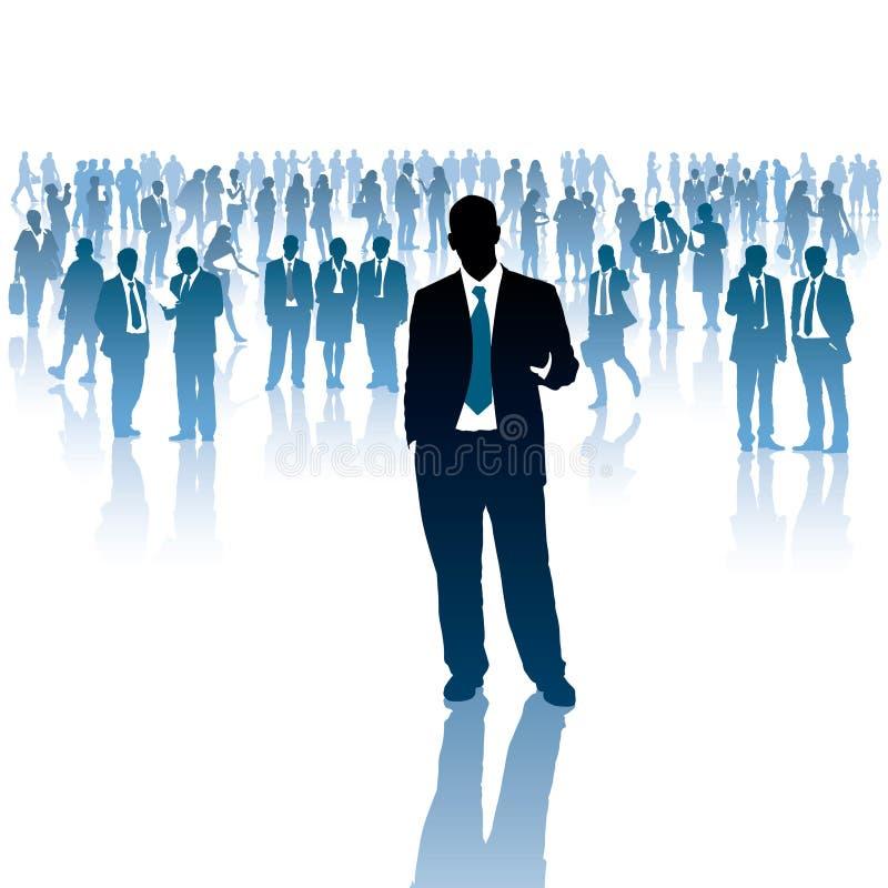 Biznesmeni royalty ilustracja
