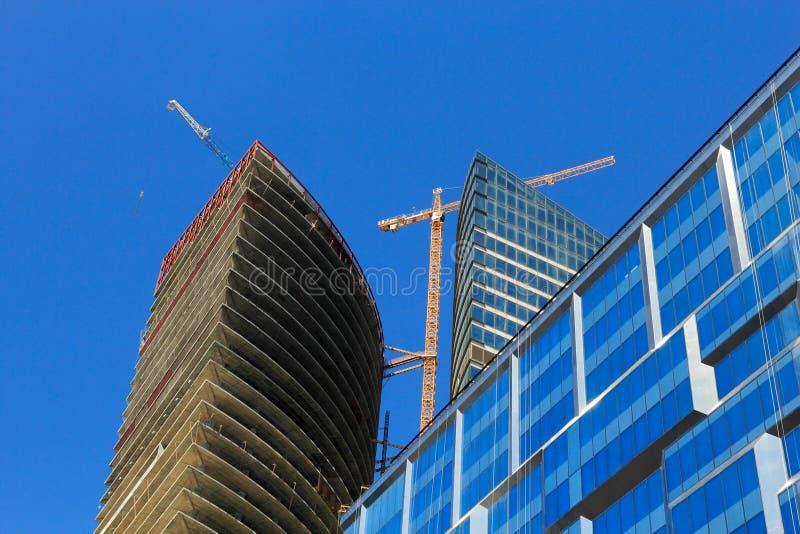 Biznesowa budynek budowa obrazy stock