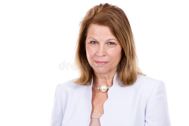 Biznesowa caucasian kobieta zdjęcia royalty free