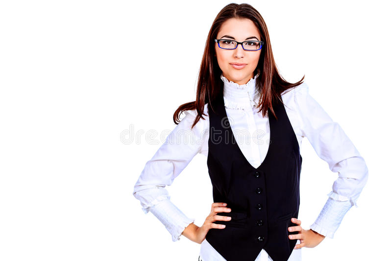 biznesowa dama zdjęcie royalty free