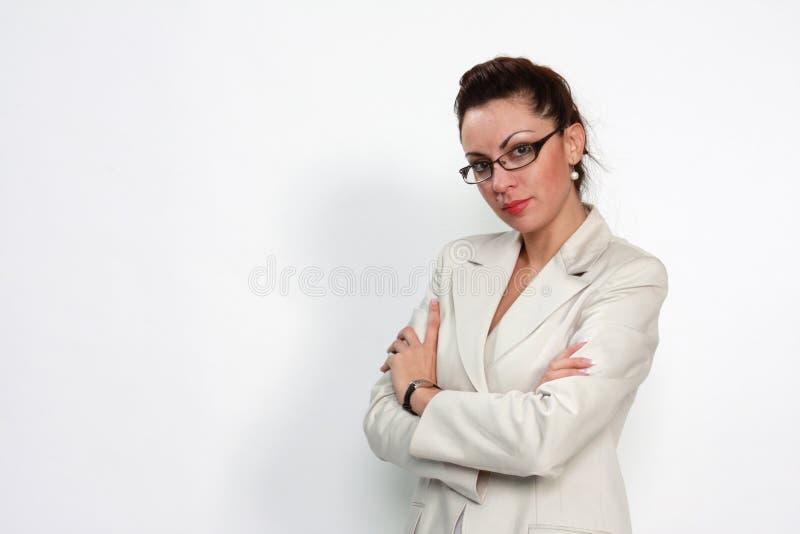 biznesowa elegancka kobieta zdjęcia royalty free