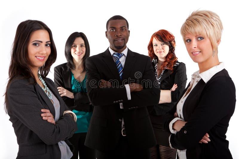 biznesowa etniczna wielo- drużyna fotografia stock