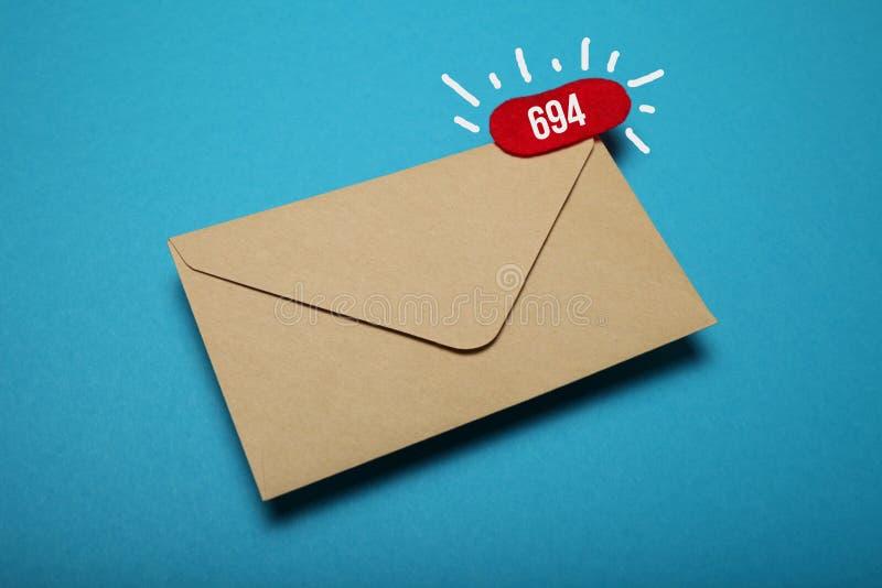 Biznesowa gadki komunikacja, adres korespondencja, podaniowy app zdjęcia royalty free
