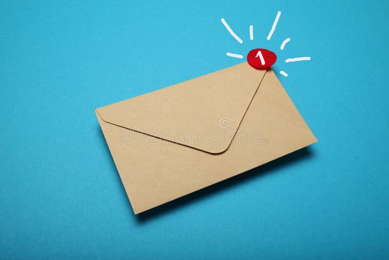 Biznesowa gadki komunikacja, adres korespondencja, podaniowy app fotografia stock