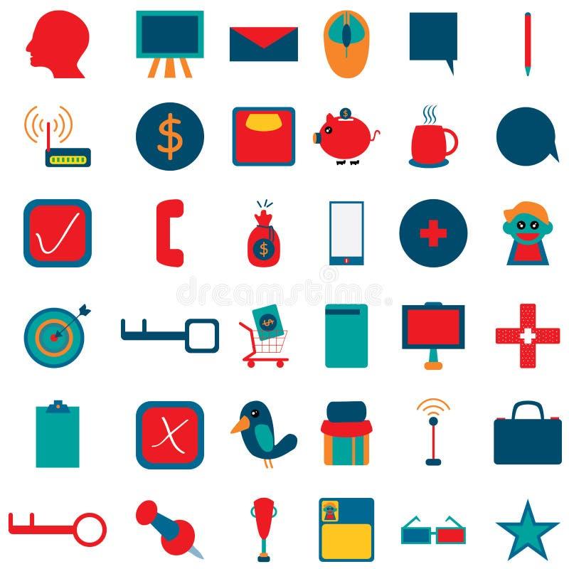 Biznesowa ikona 1 ilustracji
