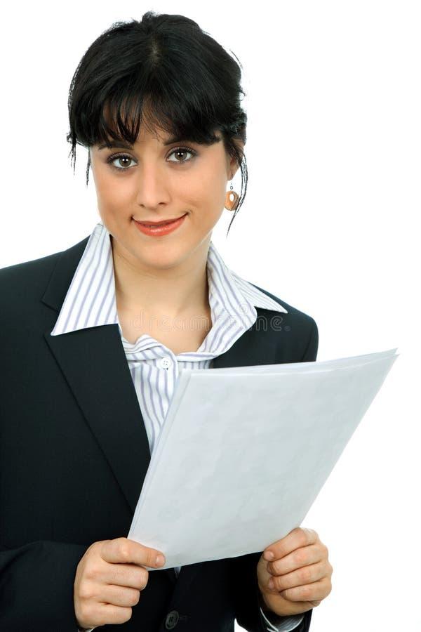 Download Biznesowa kobieta obraz stock. Obraz złożonej z dziewczyna - 13328603