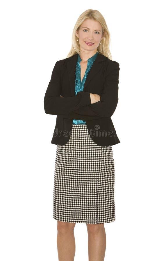 Download Biznesowa kobieta zdjęcie stock. Obraz złożonej z hairball - 13328832