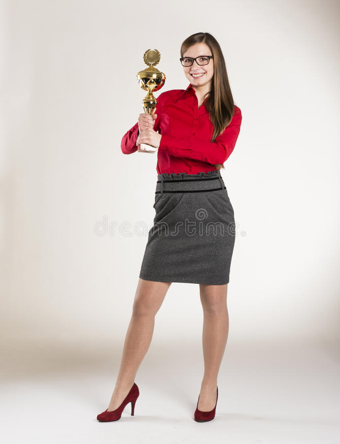 Biznesowa kobieta zdjęcie stock