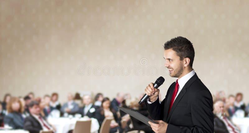 Biznesowa konferencja fotografia royalty free