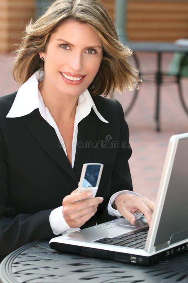 biznesowa korporacyjna laptopu korporacyjny kobieta zdjęcia royalty free