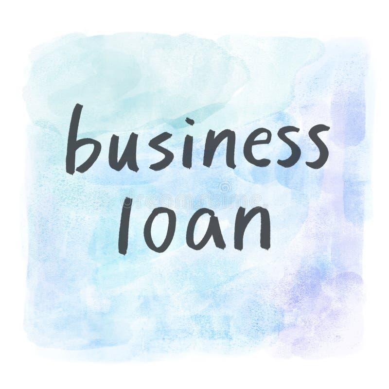 Biznesowa pożyczka ilustracja wektor