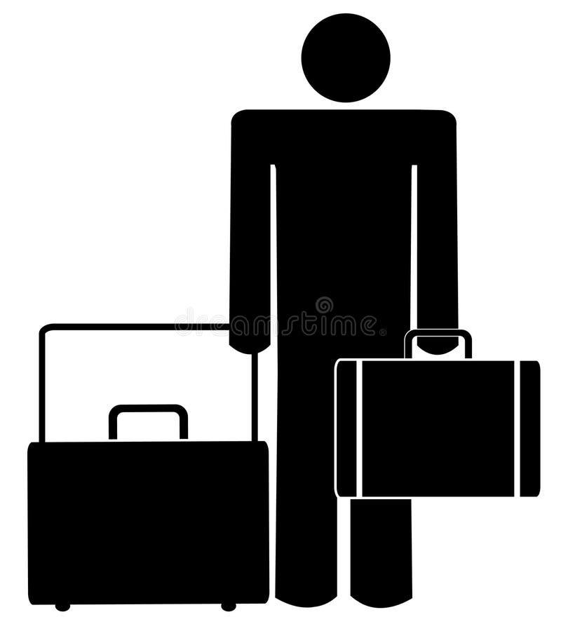 biznesowa podróż ilustracja wektor