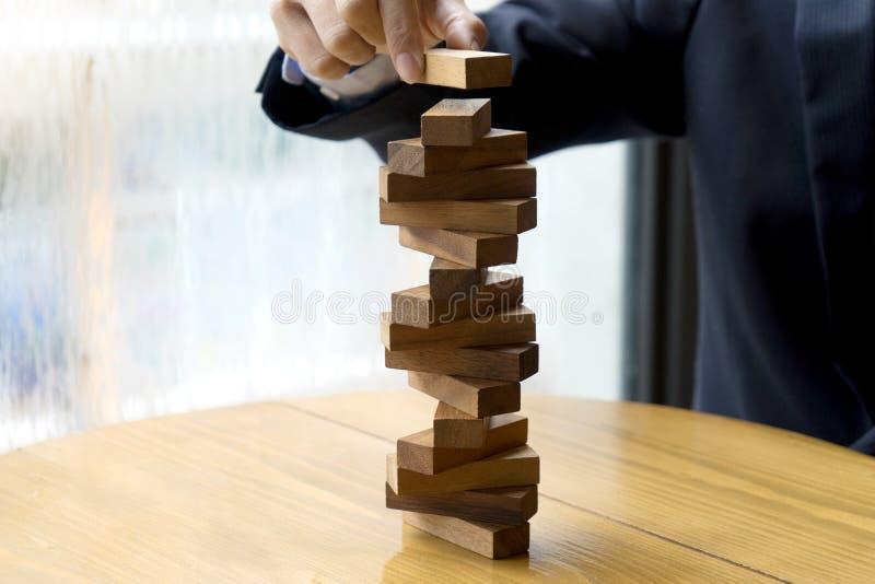 biznesowa pojęcia ryzyka i planu projekta biznesu drużyna pracuje zdjęcie stock