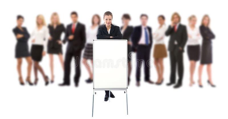 biznesowa prezentacja zdjęcie stock