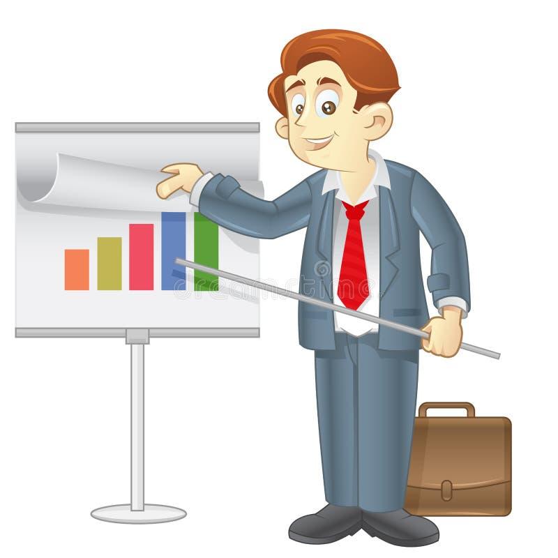 biznesowa prezentacja ilustracja wektor