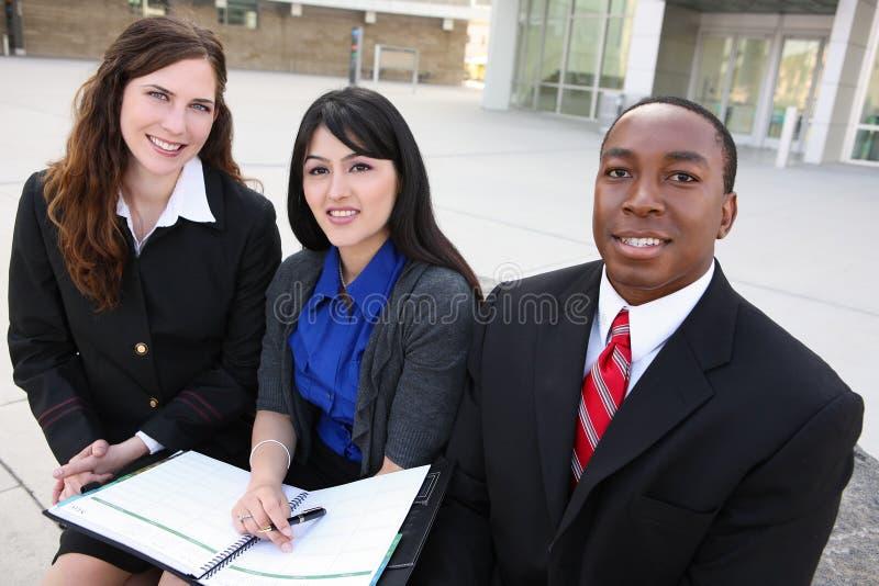 biznesowa różnorodna ostrości środka drużyny kobieta obrazy royalty free