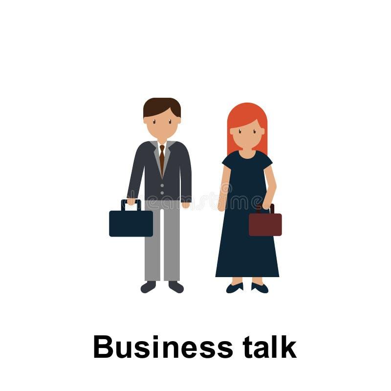 Biznesowa rozmowa koloru ikona r Premii ilo?ci graficznego projekta ikona Znaki i symbol kolekci ikona ilustracji