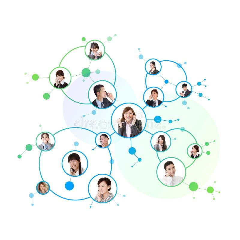 Biznesowa sieć obraz stock