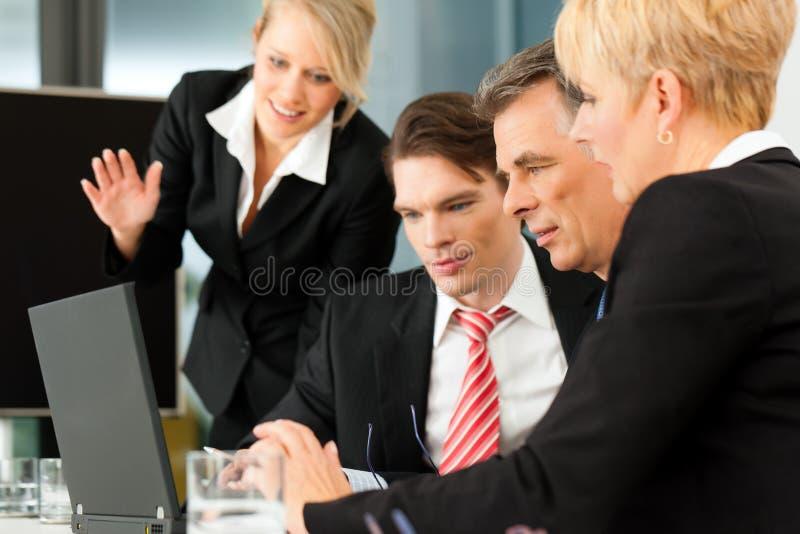 biznesowa spotkania biura drużyna obraz stock