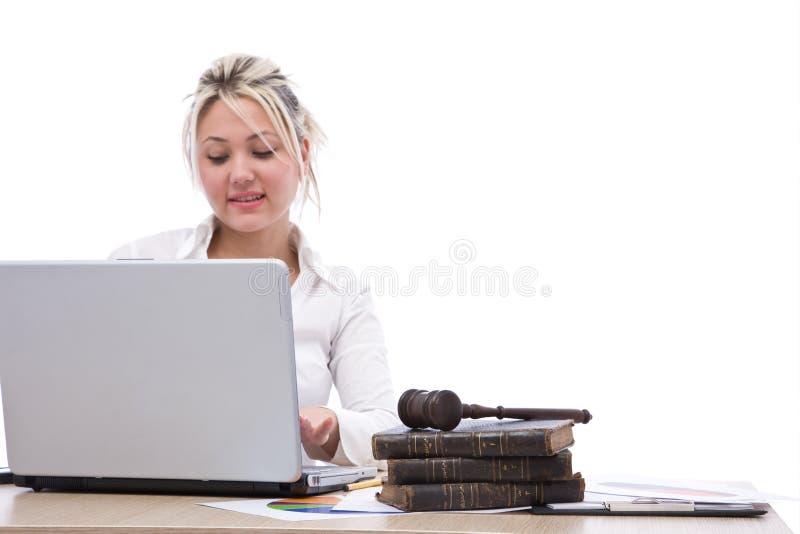 Biznesowa sprawiedliwość zdjęcia royalty free