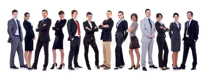 biznesowa szczęśliwa drużyna zdjęcia stock