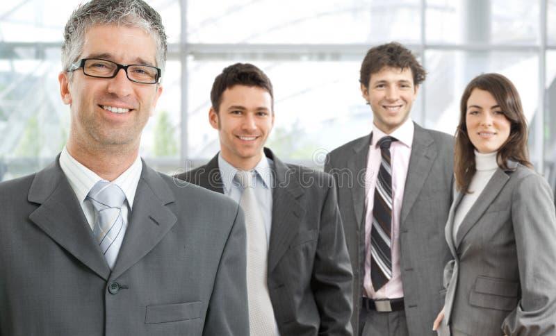 biznesowa szczęśliwa drużyna fotografia royalty free