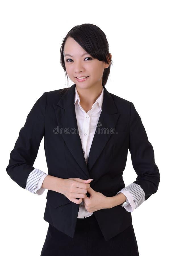 biznesowa szczęśliwa kobieta zdjęcie stock