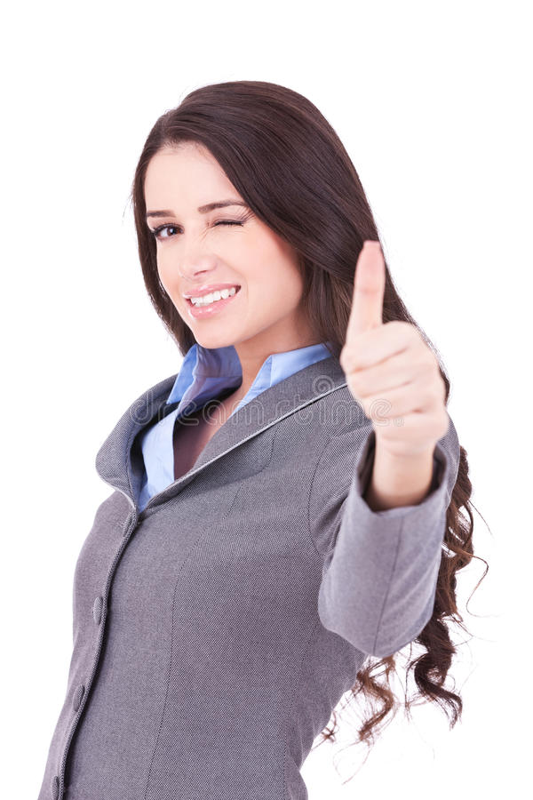biznesowa target1624_0_ kobieta obrazy royalty free