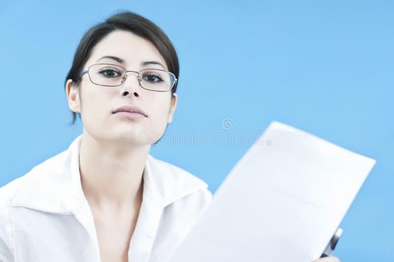 biznesowa target697_0_ kobieta obraz stock