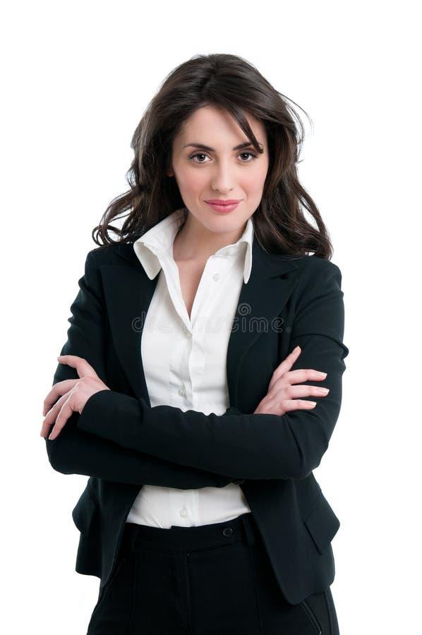 biznesowa uśmiechnięta kobieta zdjęcie stock