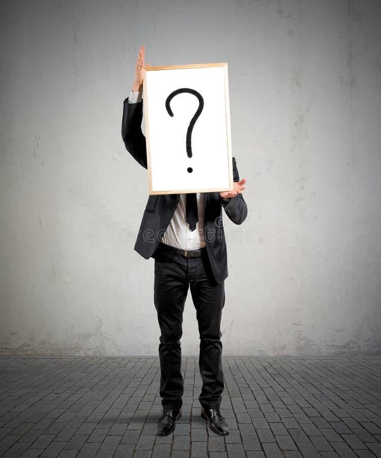 Download Biznesowa wątpliwość zdjęcie stock. Obraz złożonej z migreny - 41954976
