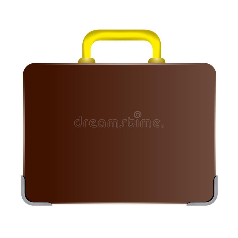Biznesowa walizki ikona ilustracja wektor