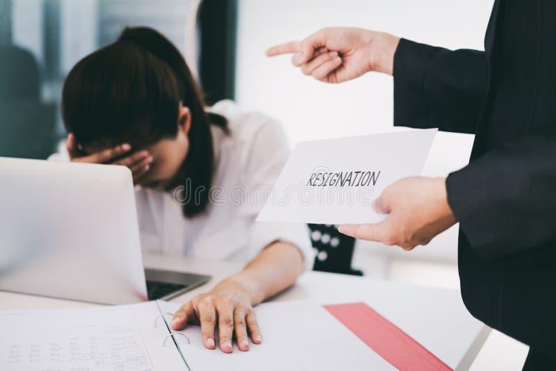 Biznesowa zmiana praca, bezrobocie, zrezygnowany pojęcie zdjęcie stock