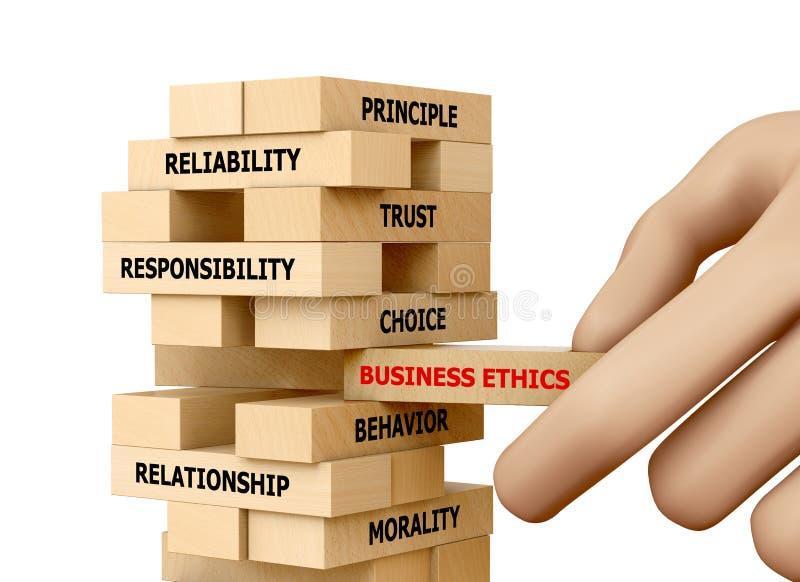 Biznesowe etyki zdjęcia stock