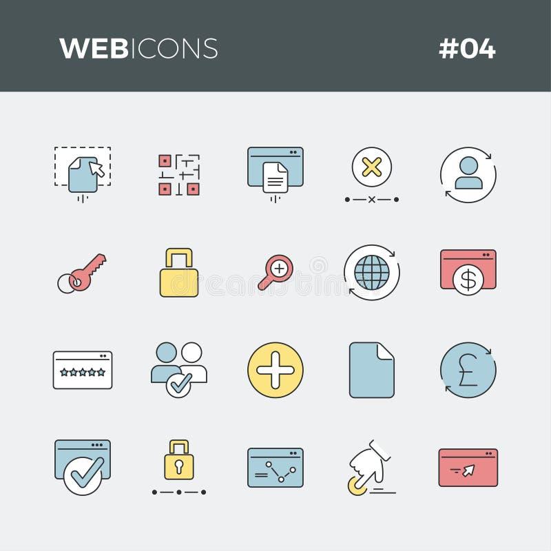 Biznesowe ikony ustawiaj? -04 ilustracji