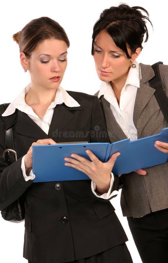 Biznesowe kobiety 2 obraz royalty free