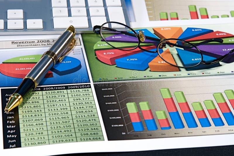 biznesowe mapy fotografia stock