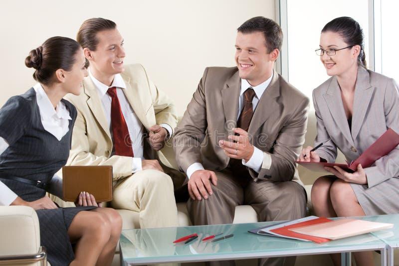 biznesowe negocjacje obrazy stock